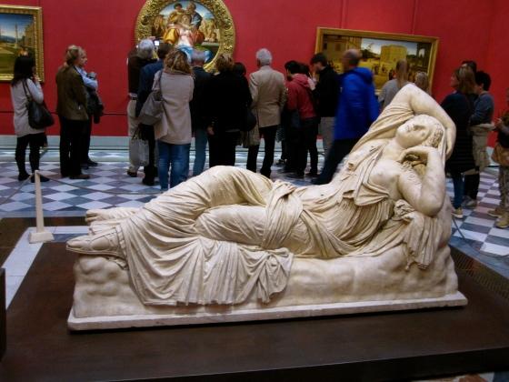 """Sleeping Ariadne"" Arte Romana, 2nd Century AD"
