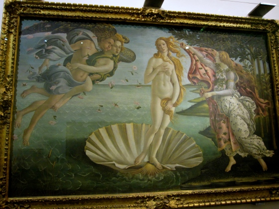 """The Birth of Venus"" Botticelli, 1482 - 1485"