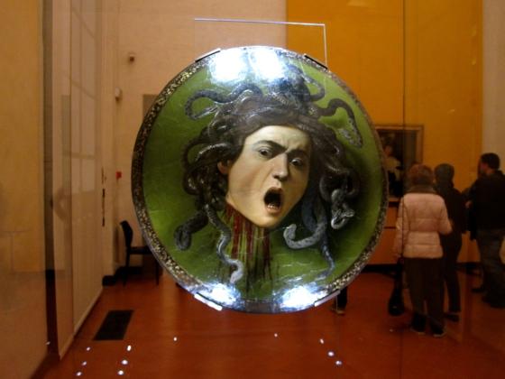 """""""Testa di Medusa"""" Carvaggio, 1597"""