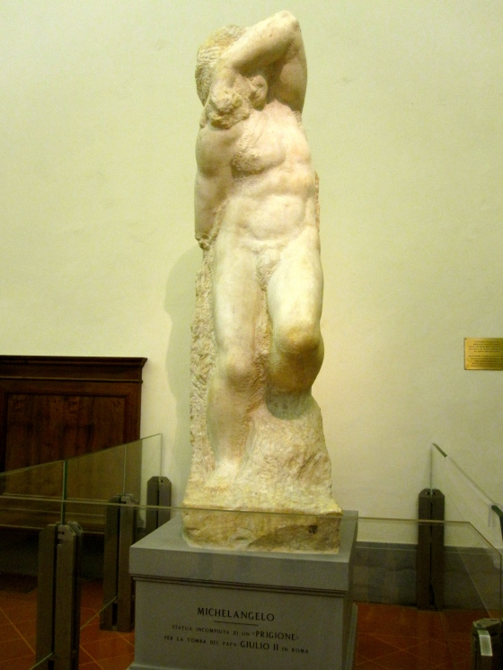 """The Young Slave"" Michelangelo, 1530-1534"