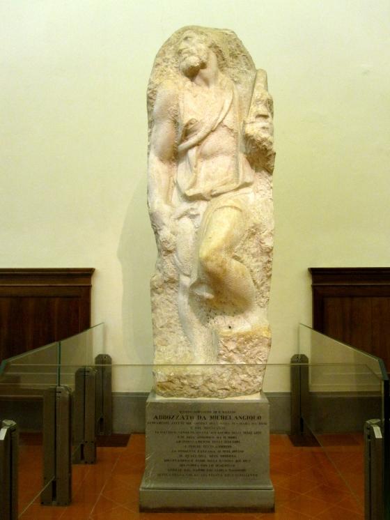 """""""St. Matthew"""" Michelangelo, 1506"""