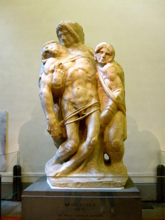 """""""Palestrina Pièta"""" Michelangelo, 1555"""