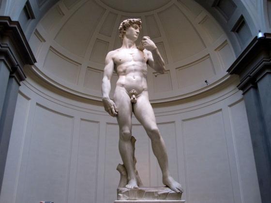 """David"" Michelangelo, 1501 - 1504"