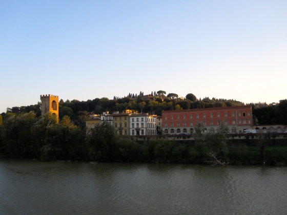 View of Oltrarno