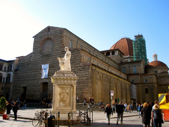 The Basilica di San Lorenzo