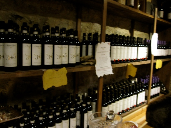 So many wines to choose from!