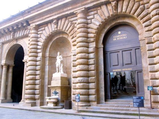 Entrance to the Boboli Gardens