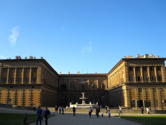 Back of the Pitti Palace