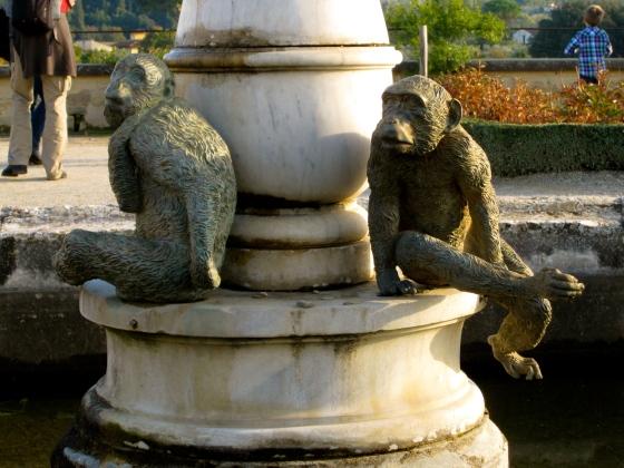 Detail of the Rose Garden Fountain