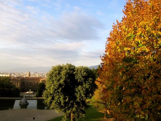View of Pitti Palace