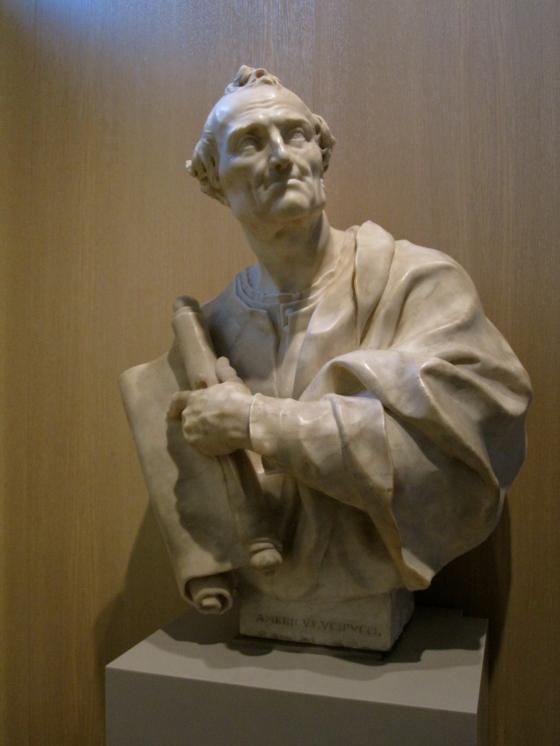 """""""Bust of Amerigo Vespucci"""" Giovan Battista Foggini, 17th-18th cent."""