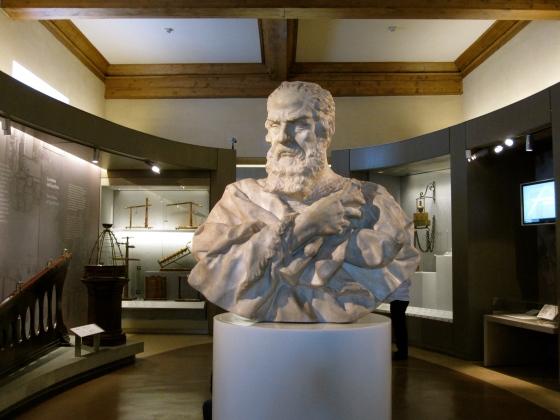 """""""Bust of Galileo Galilei"""" Carlo Marcellini, 1674-1677"""