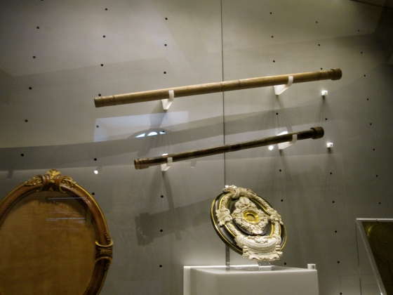 Telescopes made by Galileo in 1610