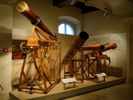 Beautiful wooden telescopes