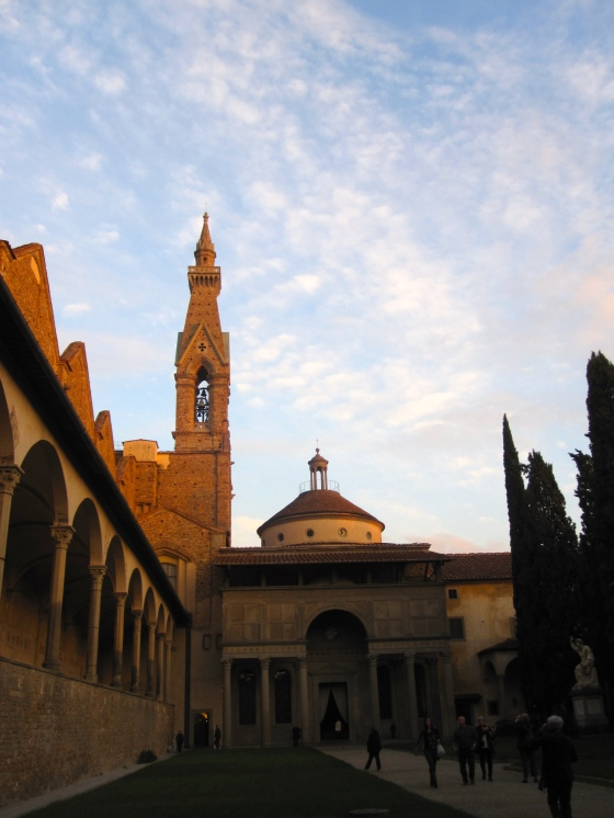 One of the cloisters of the Basilica