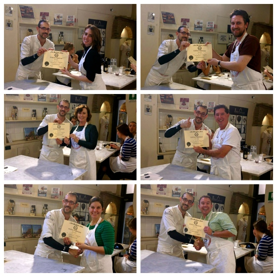 Cooking School Graduates!