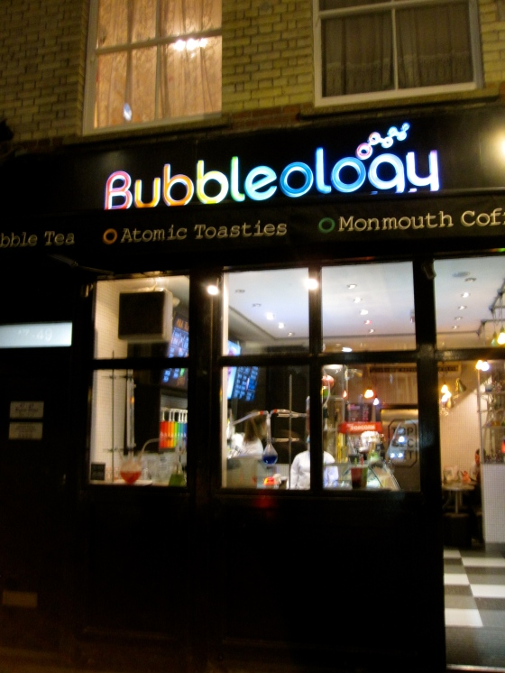 Bubbleology for a bubble tea
